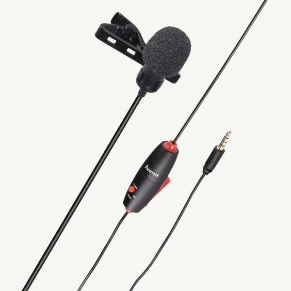 microfoon clipon voor audio en podcasts
