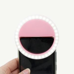 selfielamp voor op de smartphone voor tiktok