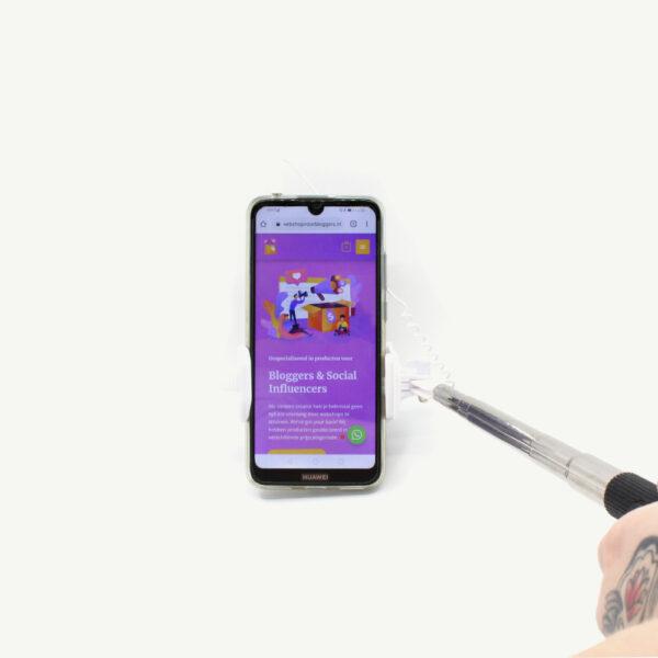 selfiestick webshop voor bloggers