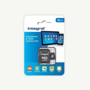 memory card 16gb voor video en audio